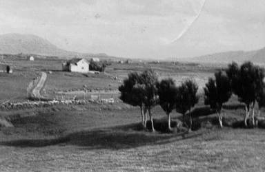 Fra Nordgård, Ramberg ca. 1947 Originalbildet er lånt av Jørgen Martinsen
