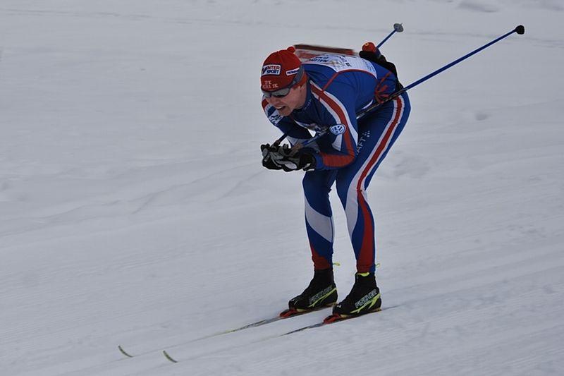 Henrik Eriksson blir testpilot under OS i Sotji. Här vid Skinnarloppet i vintras där han var snabbast i H 35-klassen. FOTO: Johan Trygg.