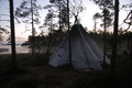 Lavvo in Lapland