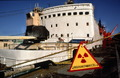 Nuclear waste storge vessel Lepse