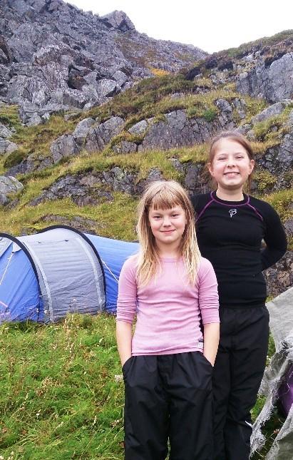 På telttur