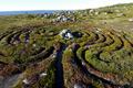 Hare Island labyrinths