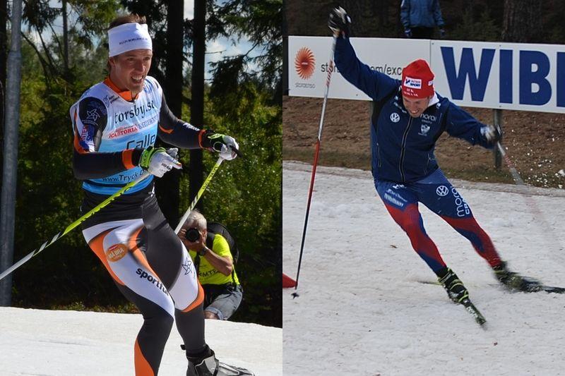 Calle Halfvarsson och Emil Jönsson är två av profilerna i Slaget om Dalarna på lördag. FOTO: Johan Trygg.