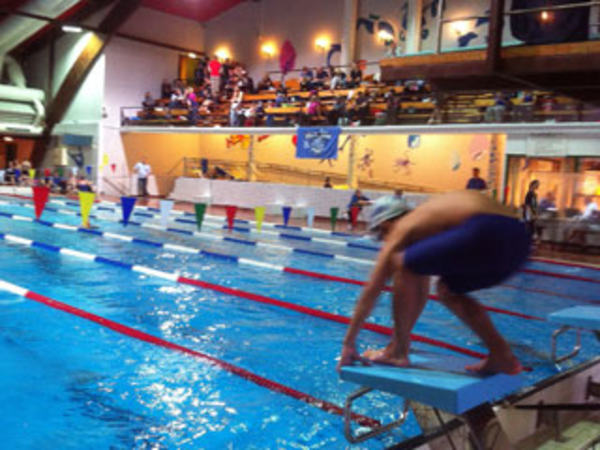 Svømming i Egersundshallen