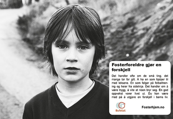 Kampanje fosterhjem 2013