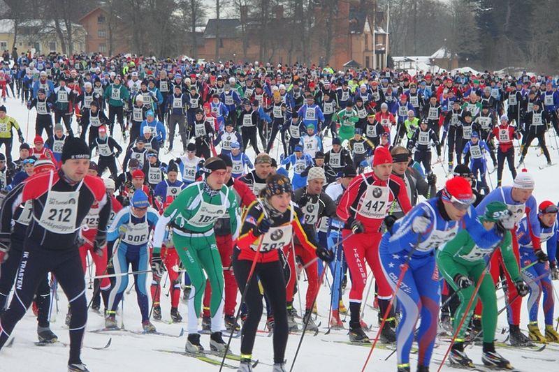 Stråkenloppet har ett anmälningstak på 1 200 åkare i vinter. FOTO: Mullsjö SOK.