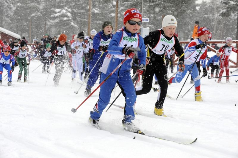 Swix blir ny värd för Ungdomsvasan. Förhoppningen är att locka fler ungdomar från både Sverige och Norge till loppet: FOTO: Vasaloppet.