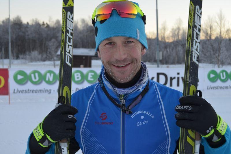 Anders Södergren hoppas visa direkt att han är en man för OS. Om inte en förkylning sätter stopp. FOTO: Johan Trygg.
