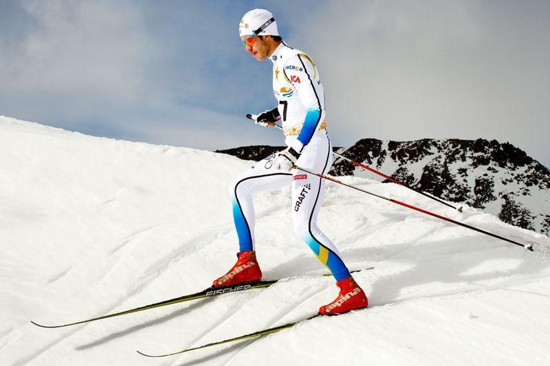 Marcus Hellner ser fram emot att dra igång världscupsäsongen idag. FOTO: Ulf Palm/Svenska skidförbundet