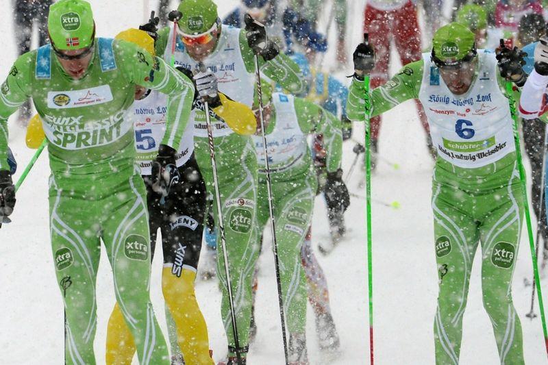 Team Centric, före detta Xtra personell, är ett av lagen på XCTTT i Östersund i morgon. FOTO: NordicFocus.