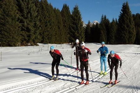 Team Coop har fina förhållande på sitt träningsläger i Seefeld. FOTO: Team Coop.