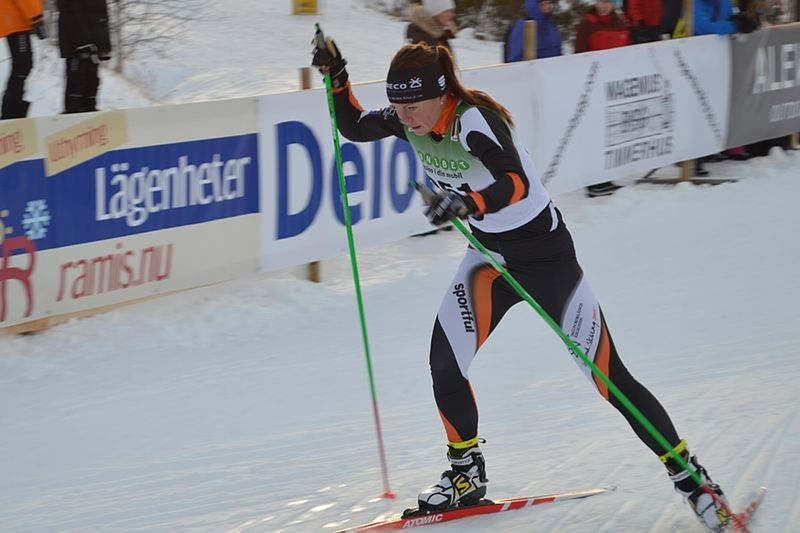 Emma Eriksson vann i Älvdalen, före Laila Kveli och Anna Haag. FOTO: Johan Trygg.