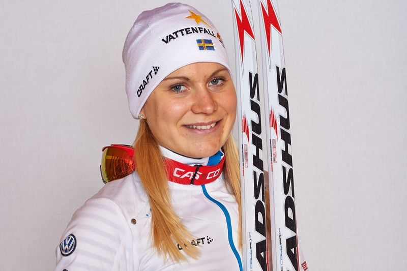 Hanna Eriksson som gjort en stark comeback den här säsongen ingår i Sveriges trupp till Tour de Ski. FOTO: Felgenhauer/NordicFocus.