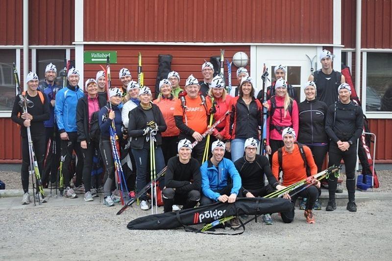 Erik Wickströms skidskolor i Borås är populära. Här en bild från hans läger i Torsby i höstas.