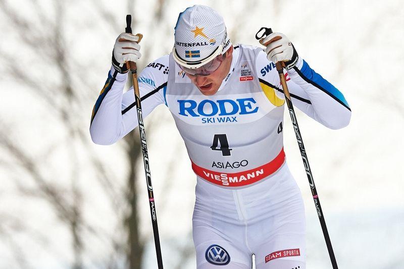 Teodor Peterson åkte starkt under dagesn sprintstafett i Asiago. FOTO: Felgenhauer/NordicFocus.