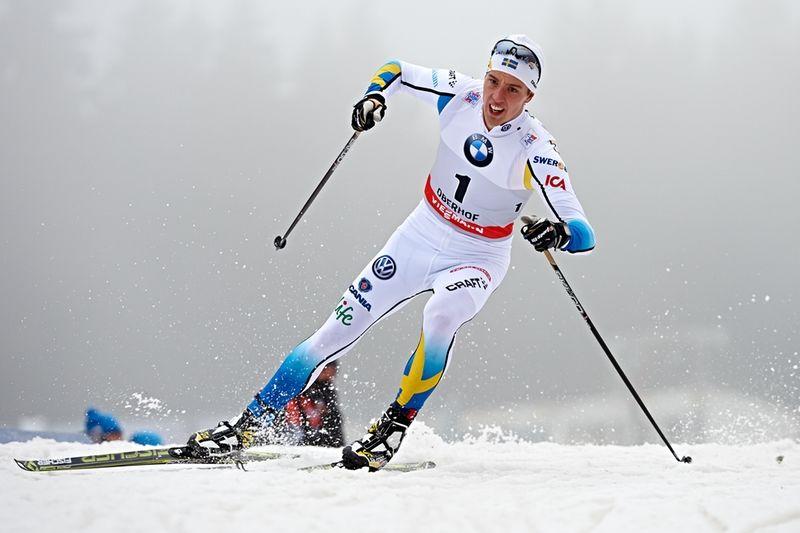 Calle Halfvarsson imponerade vid dagens Tour de Ski-sprint i Oberhof. FOTO: Felgenhauer/NordicFocus.