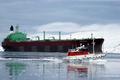 Arctic oil tanker