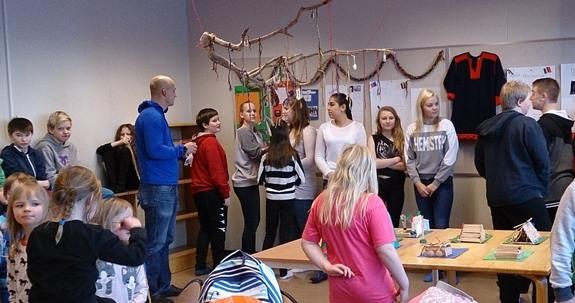 Samisk uke på Hasvik skole