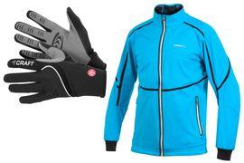 Längd.se har testat Crafts Elite High End Jacket och Power WS Glove under den gångna vintern. FOTO: Craft.