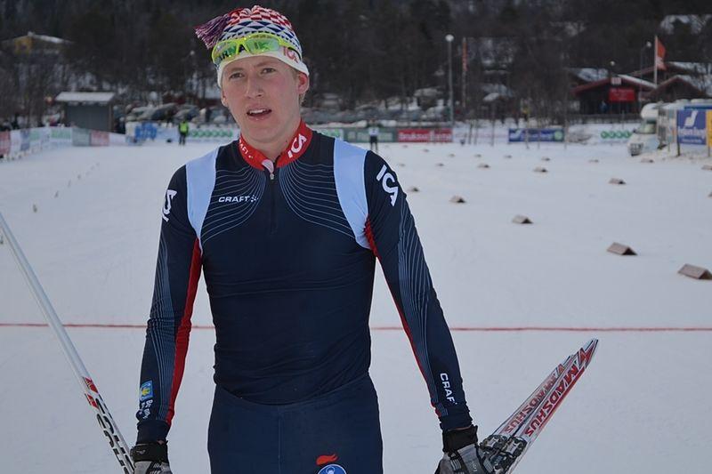 Simon Lageson blev bäste svensk på U23-VM:s skejtlopp. FOTO: Johan Trygg/Längd.se.