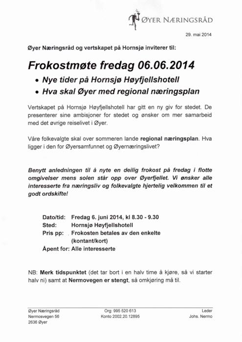 Frokostmøte Hornsjø 6.6.14.JPG