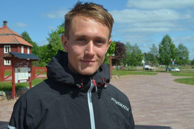 Ulricehamns IF:s Marcus Johansson tog hem King of the Hill i Partille precis före klubbkompisen Andreas Svensson. FOTO: Johan Trygg/Längd.se.