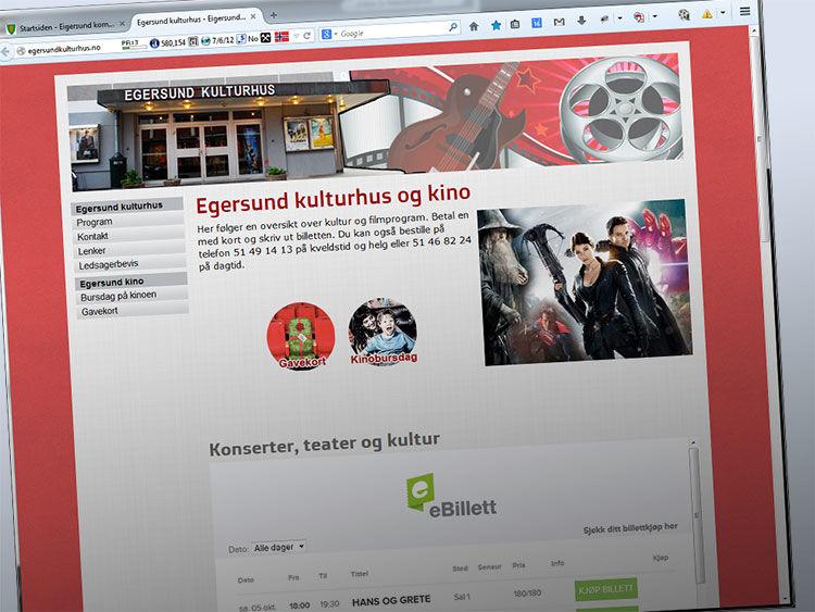 Egersundkulturhus.no