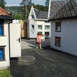 Småhus i Lilleputthammer