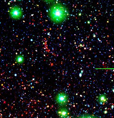 Galaksegruppe 8,59 milliarder lysår unna