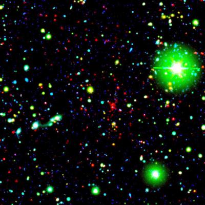 Rekordholderen ligger 9,09 milliarder lysår unna