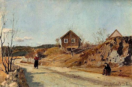 Maridalen av Edvard Munch