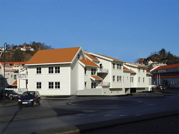 Aabergsgate og Spinnerigata