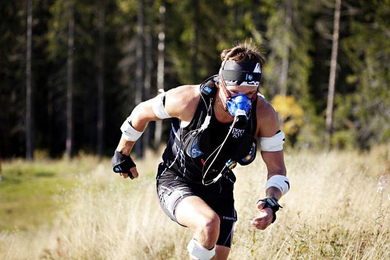 Mittuniversitetet genomför en studie på traillöpning med 3D-dräkt. FOTO: Nationellt vintersportcentrum.