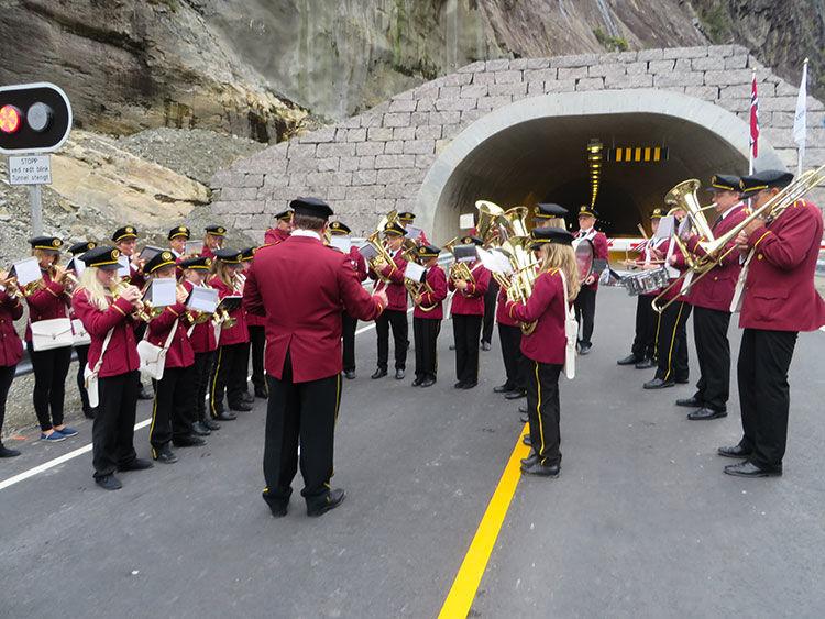 Bjønnbergtunellen i Gyadalen