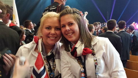 Bilde Marita Puntervoll og Stine Kipperberg