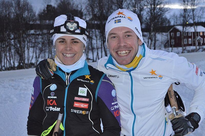 Anna Haag och Emil Jönsson kommer att bilda en egen klubb att tävla för sedan de nu lämnat IFK Mora SK. FOTO: Johan Trygg/Längd.se.