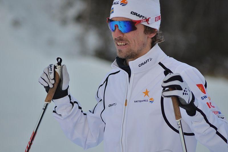 Johan Olsson är tillbaka i ordentlig träning igen och laddar i Bruksvallarna, precis som här inför säsongspremiären. FOTO: Johan Trygg/Längd.se.