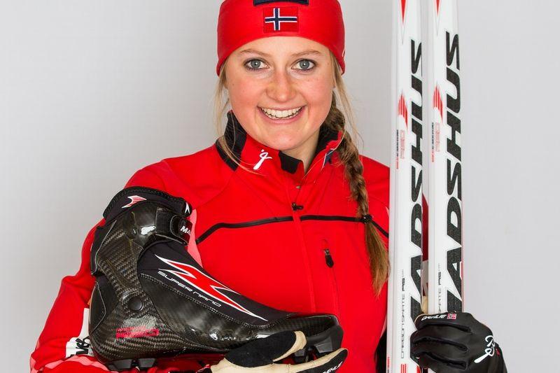 Ingvild Flugstad Östberg är en av de norska åkare som bytt till Madshus skidskor inför säsongen. FOTO: NordicFocus.