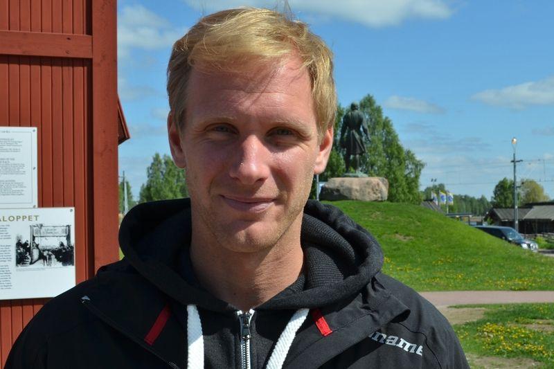 Daniel Richardsson blir en av många vassa åkare till start på Axa Ski Marathon 28 december. FOTO: Johan Trygg/Längd.se.