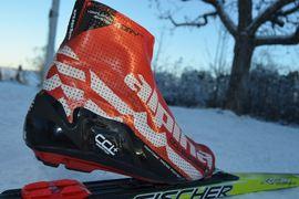 Längd.se har testat Alpinas sko för långlopp, Alpina CCL + Marathon. FOTO: Johan Trygg/Längd.se.