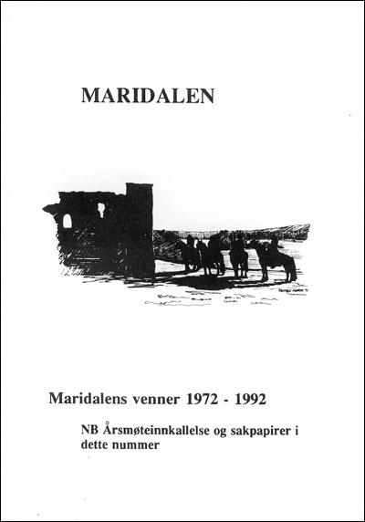 Forside årbok 1992