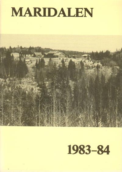 Forside årbok 1984