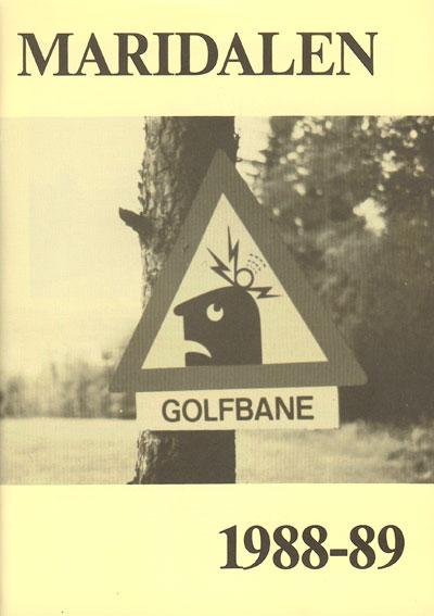 Forside årbok 1989