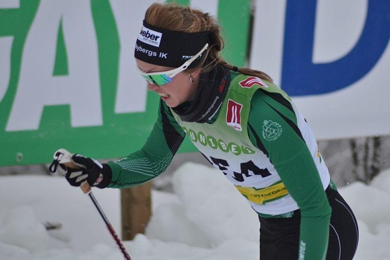Frida Erkers, Sundbybergs IK, har utsetts till stipendiat i Jim Åhls Minnesfond. FOTO: Johan Trygg/Längd.se.
