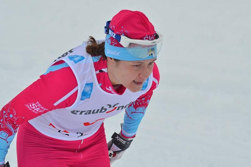 Britta Johansson Norgren åker Bessmerloppet som uppladdning för Vasaloppet. Här är Britta under La Diagonela där hon slutade fyra. FOTO: Johan Trygg/Längd.se.