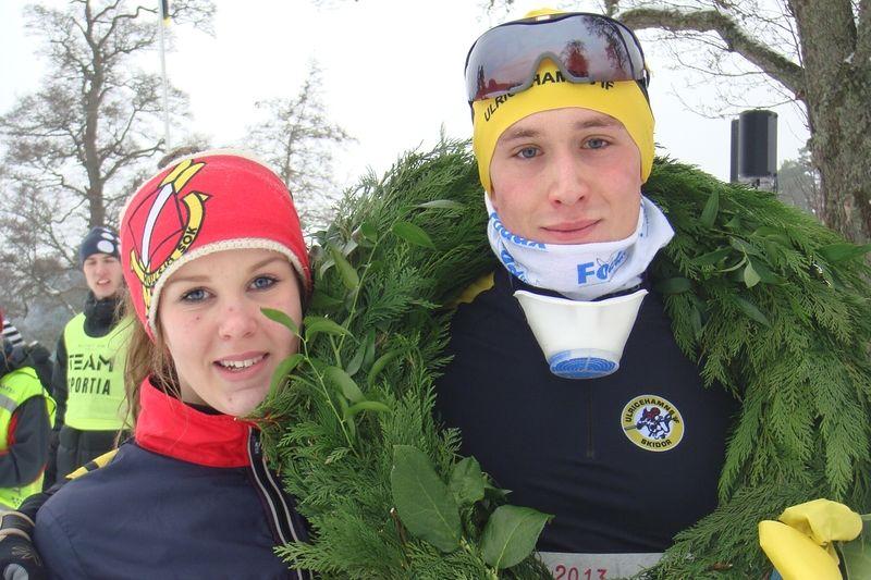 Marcus Johansson, Ulricehamns IF, vann Stråkenloppet 2014. Nu ser loppet ut att kunna genomföras även i år. FOTO: Mullsjö SOK.