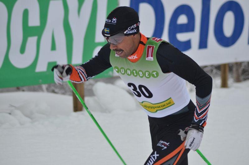 Adam Steen lämnar Falun Borlänge SK blir klubbkompis med Martin Holmstrand och Jimmie Johnsson i Axa SC kommande vinter. FOTO: Johan Trygg/Längd.se.