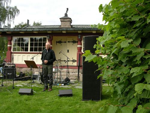 Kulturminnevandring 2005. Foto: Tor Øystein Olsen 040905