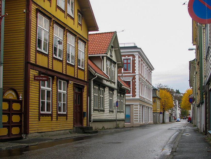 Strandgata I Egersund sentrum