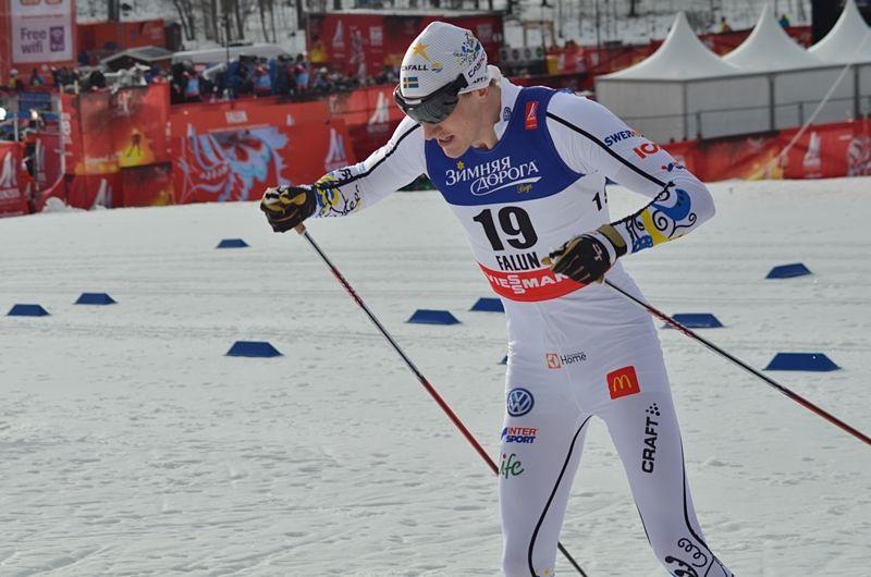Johan Edin missade avancemang i VM:s sprintprolog. FOTO: Johan Trygg/Längd.se.